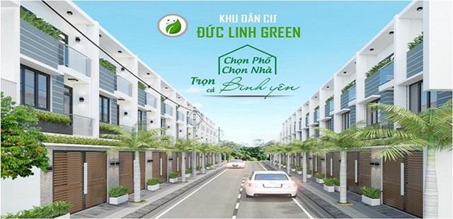 Phối Cảnh Dự Án KDC Đức Linh Green