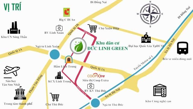 Dự án KDC Đức Linh Green