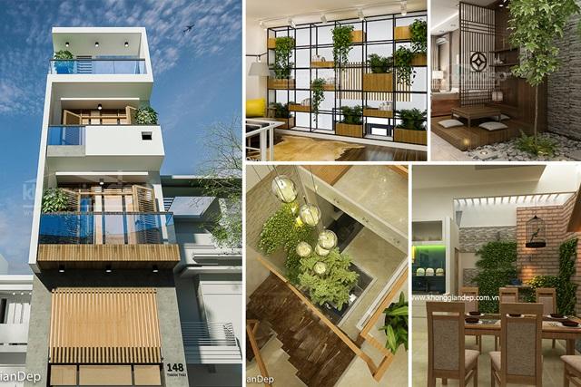 Mẫu Nhà Dự Án KDC Đức Linh Green
