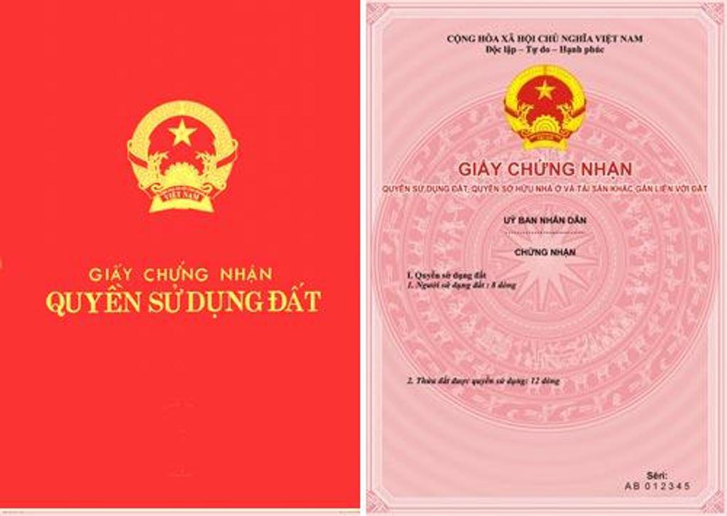 giấy CNQSD Đất