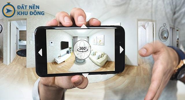 công nghệ xem nhà đất 360