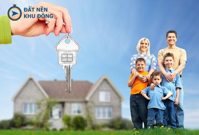 Sở hữu căn nhà mơ ước cùng gia đình