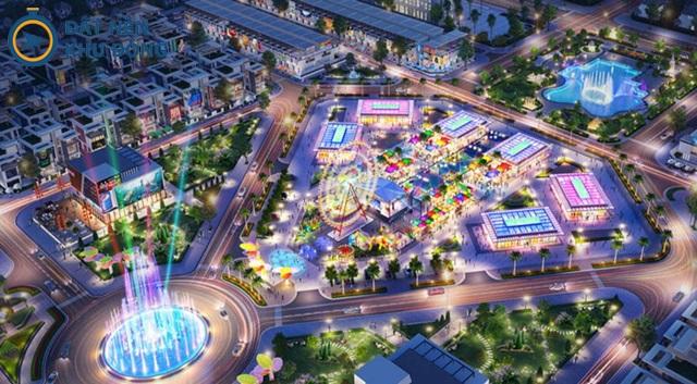 Công viên giải trí tại dự án 92ha Long Thành