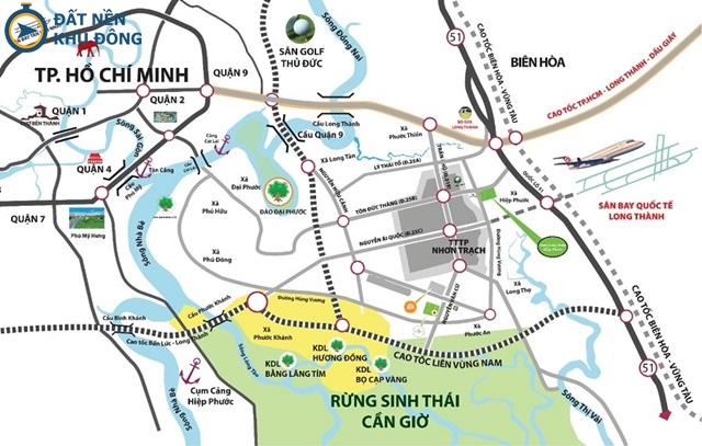 Long Thành với cơ sở hạ tầng tương lai phát triển