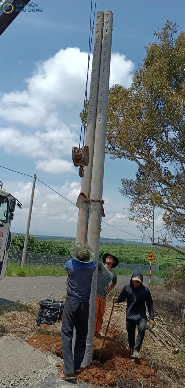 Kéo điện tại Đất nền Lộc Ngãi Greenview
